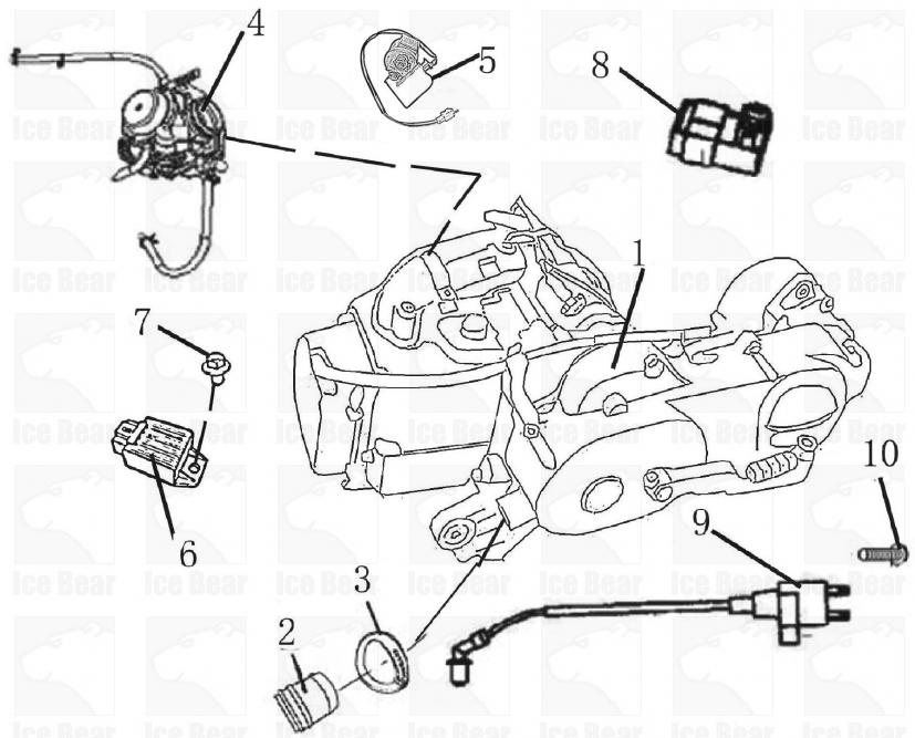 wiring diagram for sunl 50cc dirt bike