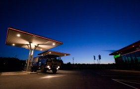 Last gas station before Iceland (Hirtshals, Denmark, AG)