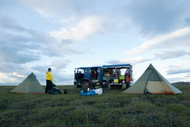 Our first night in Iceland – it's around midnight! (SB)