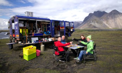 Our first breakfast in Iceland – could it be any better? (AG)