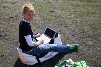 Susi's outdoor office (AG)