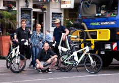 Before departure: Farewell at RedsDeli in Berlin (AG)