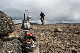 Coffee break in Krepputunga lava desert