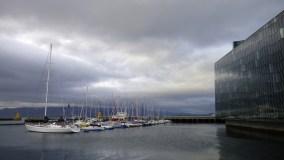 Harpa, Reykjavík's sparkling new concert hall and cultural center next to the sailing harbor (OV)