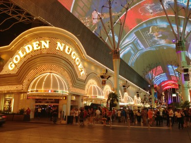 """In the heart of """"old"""" Las Vegas (SB)"""