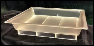Frosted Drip Pan