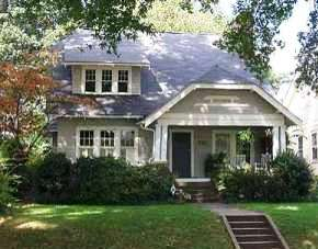 Bungalows in Charlotte North Carolina's Dilworth Community