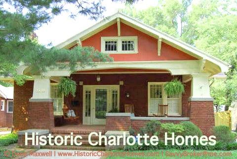 Old charlotte historic charlotte neighborhoods for Charlotte home