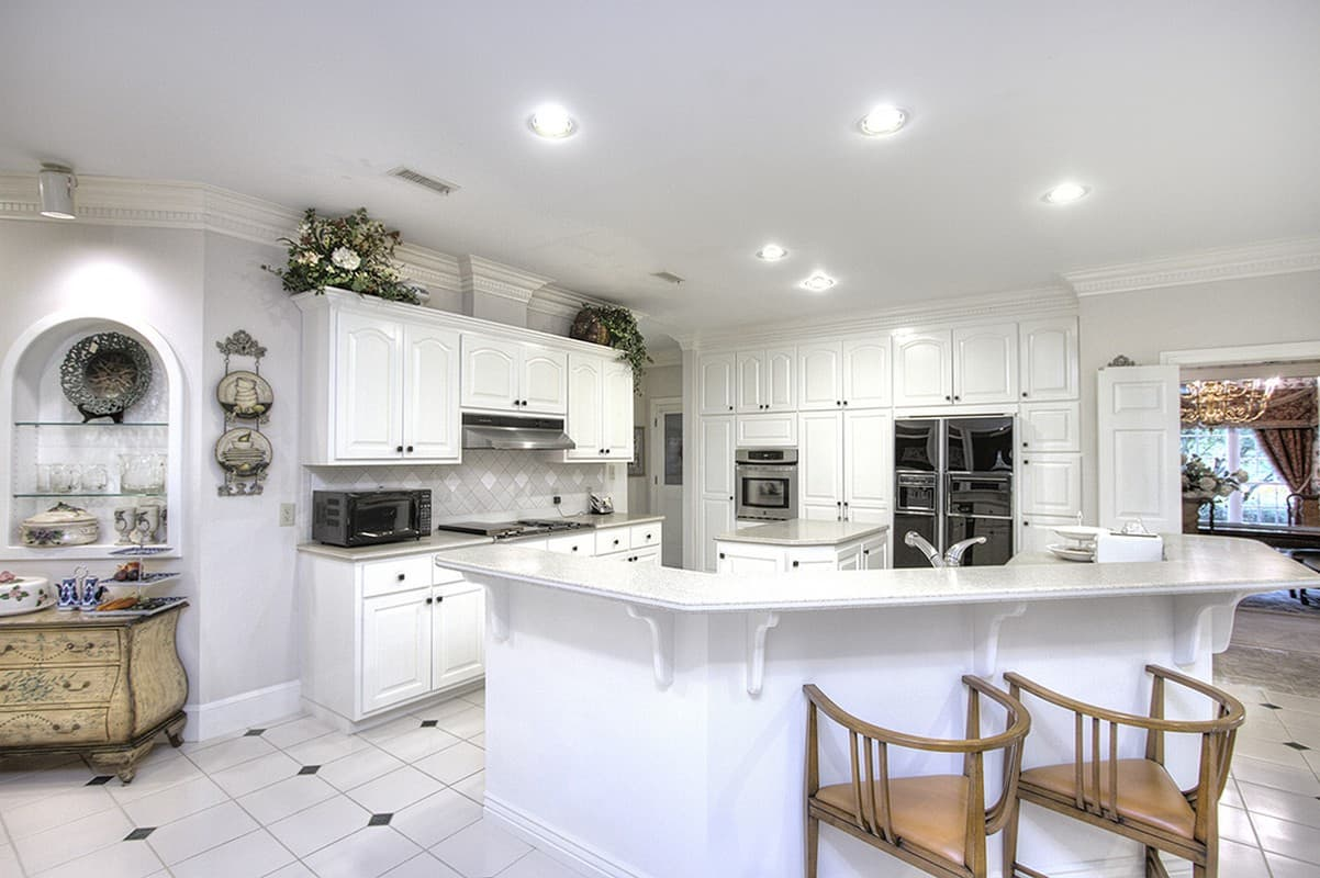 Gourmet kitchen in Wesley Chapel Home for Sale