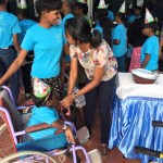 Christmas concert for differently-abled children
