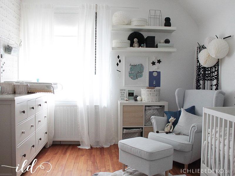 Ein Babyzimmer einrichten mit IKEA in 6 einfachen Schritten - kinderzimmer praktisch einrichten