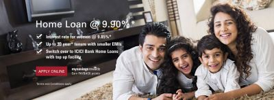 Home Loans, Housing Loan/Finance, Apply Online at ICICI Bank