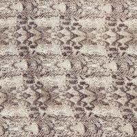 Black & White Knit Snake Print Scarf   Icing US