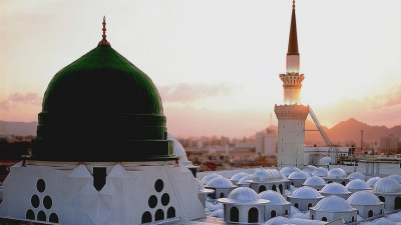 3d Roof Wallpaper History Of Masjid Al Nabawi And The Green Dome Crescent