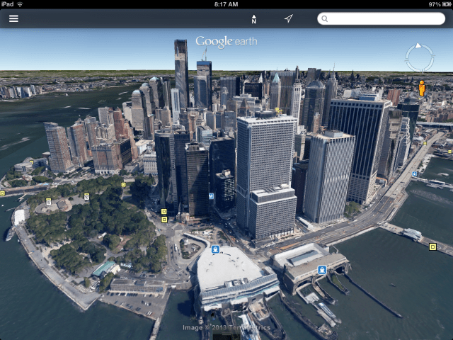 earth maps street view