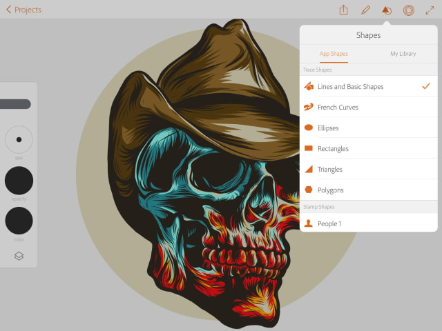 Best Free Wallpaper App For Iphone X New Adobe Illustrator Draw App Now Available For Ipad