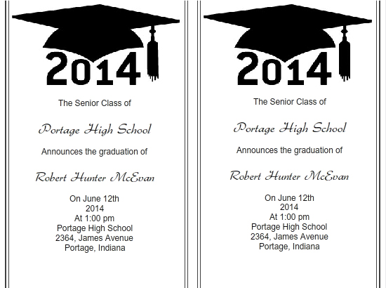 Use iClickPrint Templates for Graduation Invitations Customize Now - graduation invitation template