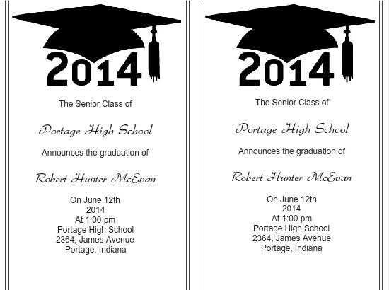 Use iClickPrint Templates for Graduation Invitations Customize Now - graduation invitation template