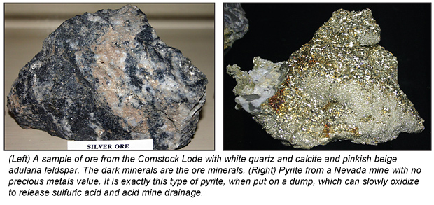 Gangue Minerals - What Do They Tell Us? - - ICMJ\u0027s Prospecting and