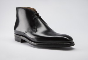 affordable James Bond leather chukka boots