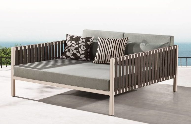 Read more · Garnet Modern Outdoor Chaise Lounge Daybed : chaise lounge daybed - Sectionals, Sofas & Couches