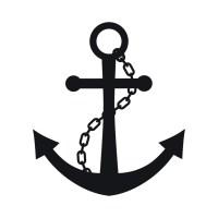 Chain And Anchor Wall Sticker Nautical Wall Decal Art | eBay