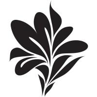 Leaf Print Wall Stickers Floral Wall Decal Art | eBay