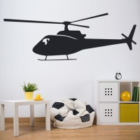 Helicopter Wall Stickers Vehicle Wall Art
