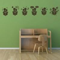 School Lessons Wall Sticker Educational Wall Art