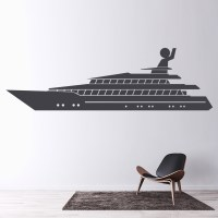 Cruise Ferry Wall Sticker Boat Wall Art