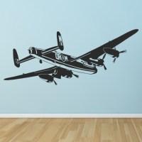 Bomber Aeroplane RAF Fighter Airplane Wall Sticker