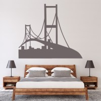 Golden Gate Bridge Wall Sticker San Francisco Wall Decal ...