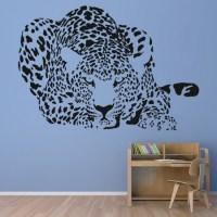 Stalking Leopard Wall Sticker Animal Wall Art