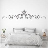 Royal Floral Boarder Wall Sticker Decorative Wall Art