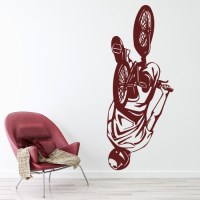BMX Tick Wall Sticker Bike Wall Art
