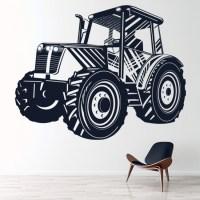 Tractor Wall Sticker Vehicle Wall Art