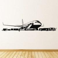 Airport Wall Sticker Airplane Wall Art