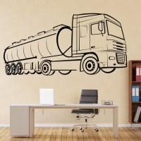 Oil Tanker Wall Sticker Vehicle Wall Art