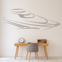 Speed Boat Wall Stickers Boat Wall Art
