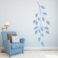 Leaf Branch Wall Stickers Nature Wall Art