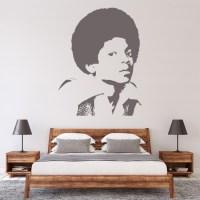 Michael Jackson Wall Sticker Jackson 5 Music Wall Decal ...
