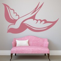 Swallows 3 Wall Stickers Animal Wall Art