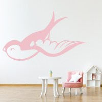 Swallows 4 Wall Stickers Animal Wall Art