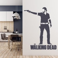 Rick Grimes Wall Sticker The Walking Dead Wall Art