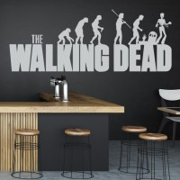 The Walking Dead Evolution Wall Sticker The Walking Dead ...