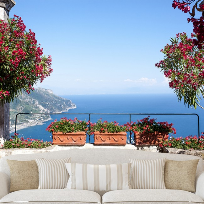 Vans Wallpaper For Girls Amalfi Coast Landscape Wall Mural Wallpaper