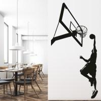 Basketball Wall Decals - talentneeds.com