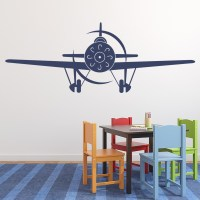 Aeroplane Front wall Stickers Airplane Wall Art