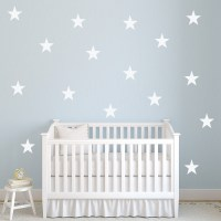 Five Pointed Star Wall Sticker Creative Multi Pack Wall ...