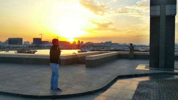Tiago vive desde 2012 em Doha